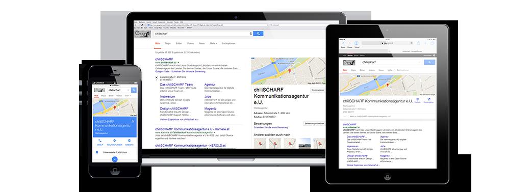 Mobile als Google Ranking Faktor