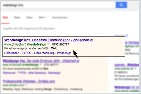 Mit AdWords stehen Ihre Anzeigen ganz oben in den Suchergebnislisten.